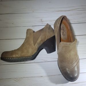 Eurosoft Leather Shooties NWOT